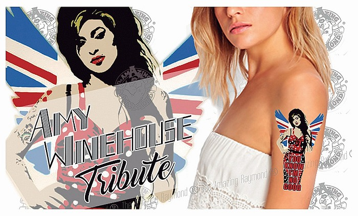 Amy Winehouse Tribute Tattoos
