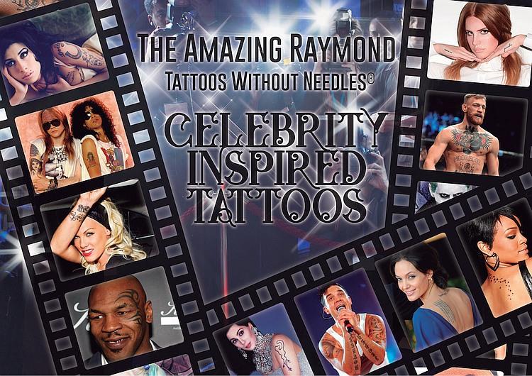 Temporary Tattoos Celebrity Inspired