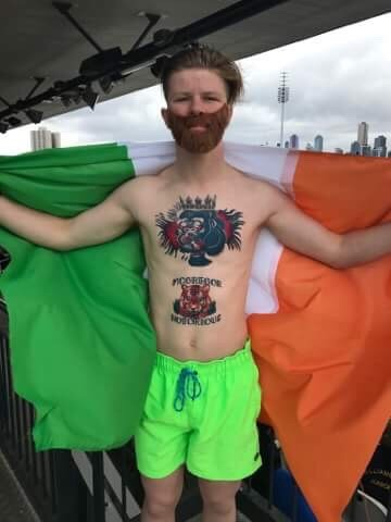 Conor McGregor Style Temporary Tattoos
