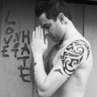 Robbie Williams Temporary Tattoos Australia Fake Henna Tattoo