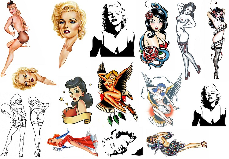 Pin Up Temporary Tattoos Amazing Raymond Tattoos