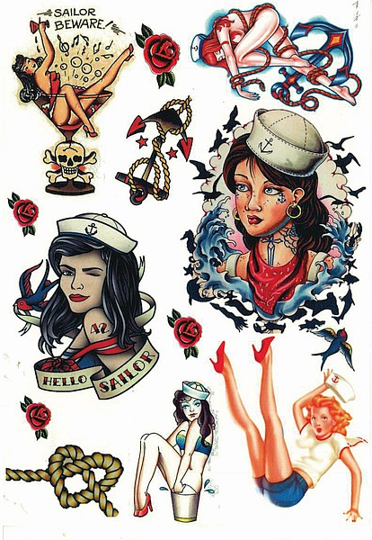 Vintage Tattoos from Amaizng Raymond Tattoos